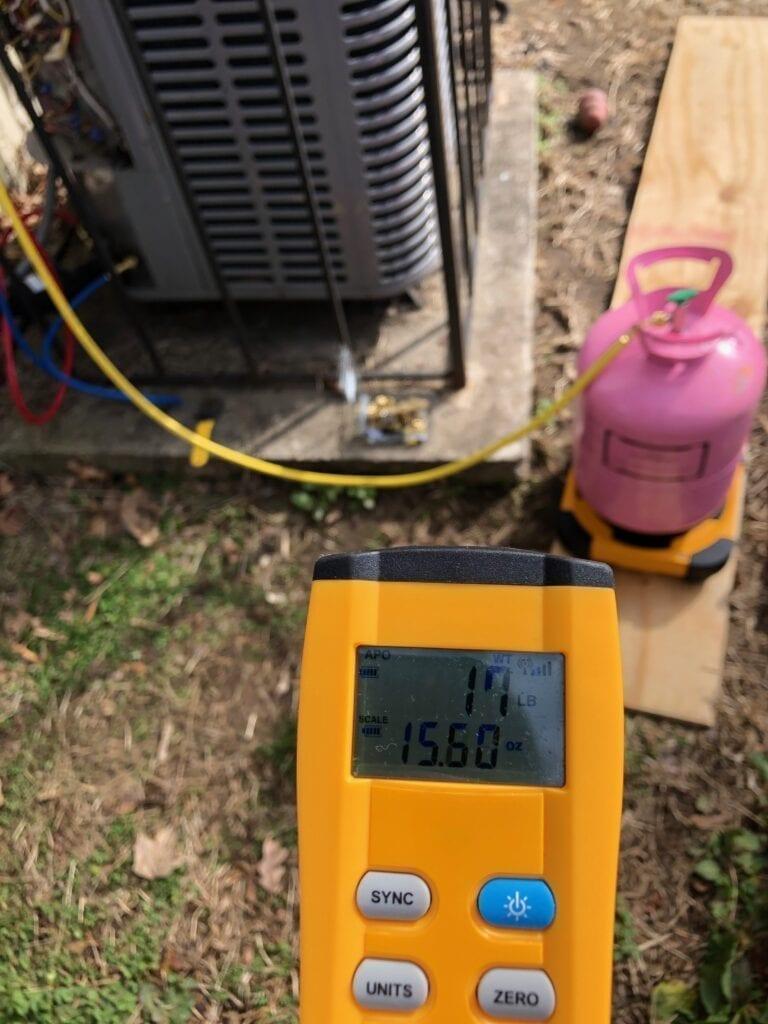 Refrigerant Calibration & Leveling