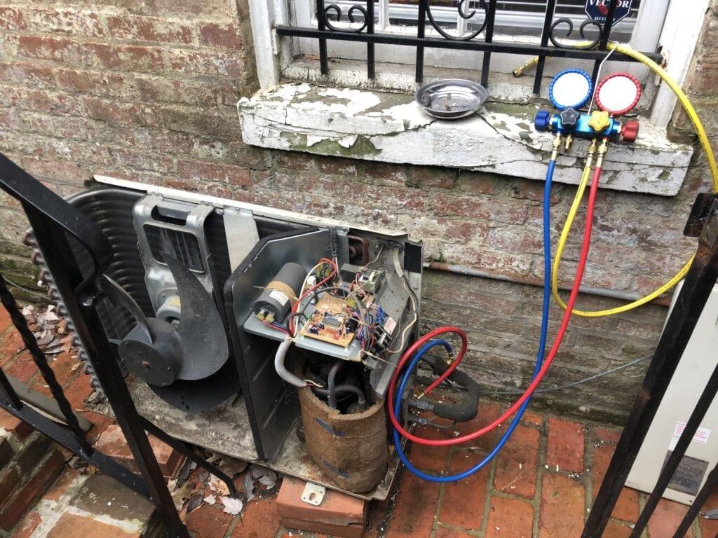 Split HVAC Systems